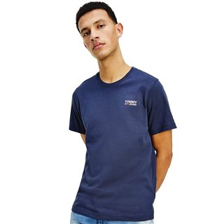 Tommy Jeans Navy Organic Cotton T-Shirt