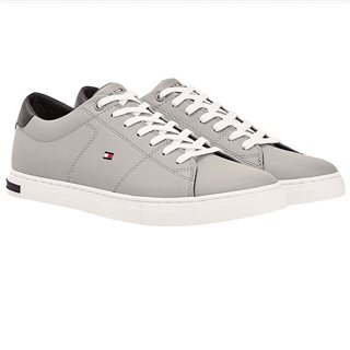 Tommy Hilfiger Footwear Antique Silver Essential Trainers