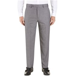 Skopes Silver Tapered Suit Trouseres