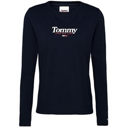 Tommy Hilfiger Womens Black Essential Long Sleeve T-Shirt