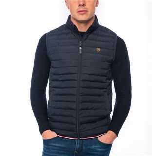 Tommy Bowe XV Kings Navy Wesley Padded Gilet