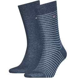 Tommy Hilfiger Jeans Small Stripe 2 Pack Socks