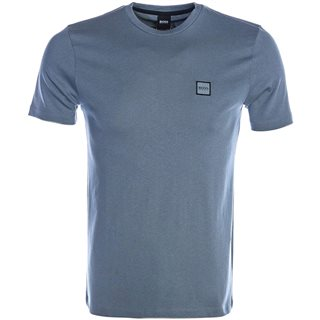 BOSS Dark Grey Single Jersey Cotton T-Shirt