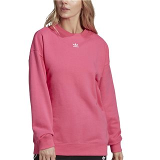 adidas Originals Pink Trefoil Essentials Sweat