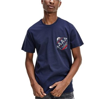 Tommy Jeans Twilight Navy Patch Pocket Organic Cotton T-Shirt