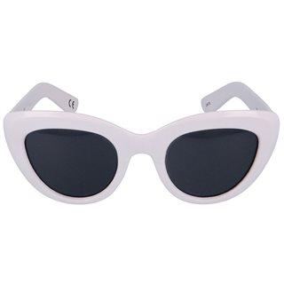 NA-KD White Cat Eye Sunglasses