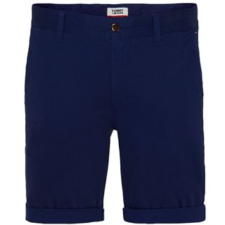 Tommy Jeans Black Iris Essential Chino Shorts