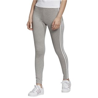 adidas Originals Grey Adicolor 3-Stripes Leggings