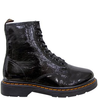 Dubarry Shiny Black Klarinett Leather Boot