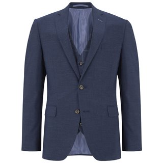 Daniel Grahame Blue Damon Tapered Fit 3-Piece Suit