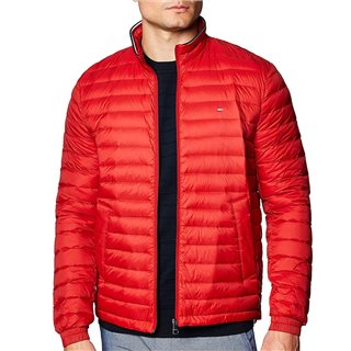 Tommy Hilfiger Arizona Red Packable Down Jacket