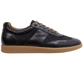 Benetti Black Cole Trainers