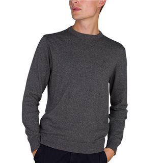 Magee 1866 Grey Carn Cotton Jumper