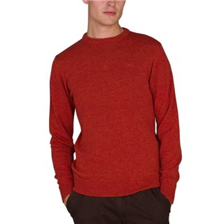 Magee 1866 Red Lunnaight Lambswool Jumper