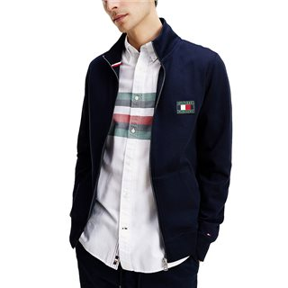 Tommy Hilfiger Desert Sky Icons Essential Zip Sweater