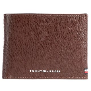 Tommy Hilfiger Chestnut Business Cc And Coin Wallet