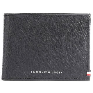 Tommy Hilfiger Black Business Cc And Coin Wallet