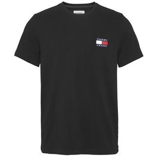 Tommy Jeans Black Tommy Badge T-Shirt