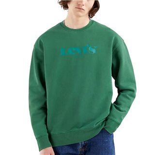 Levi's Forest Relaxed Graphic Fleece Sweater