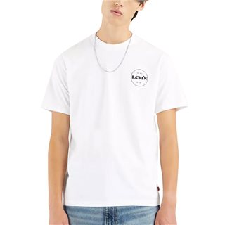 Levi's White Relaxed Fit Badge T-Shirt