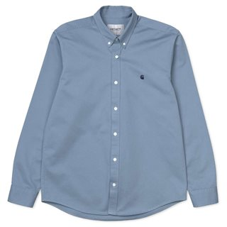 Carhartt WIP Cold Blue Madison Shirt
