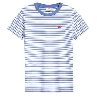 Levi's Colony Blue Women's Striped Perfect T-Shirt