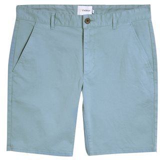 Farah Reef Green Hawk Dyed Twill Chino Shorts