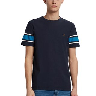 Farah True Navy Spielberg T-Shirt