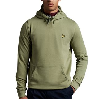 Lyle & Scott Moss Pullover Hoodie