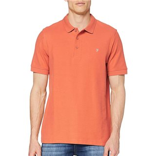Farah Rustic Red Cove Polo