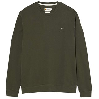 Farah Fatigue Green Fulwood Sweater