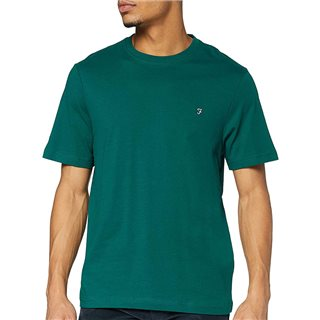 Farah Getty Green Eddie T-Shirt
