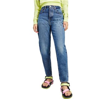 Tommy Hilfiger Blue Mom Ultra High Rise Tapered Jeans