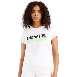 Levi's White The Perfect Tee