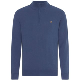 Farah Cold Metal Redchurch Quarter Zip Jumper