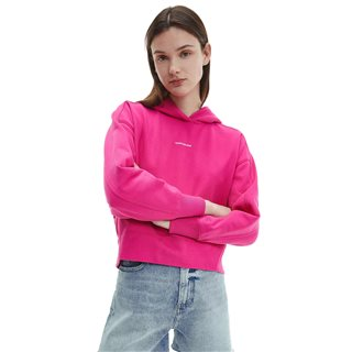 Calvin Klein Party Pink Oversized Organic Cotton Hoodie