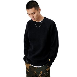 Carhartt WIP Black Chase Sweat Top