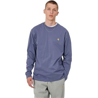 Carhartt WIP Cold Viola Chase Long Sleeve T-Shirt