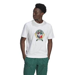 adidas Originals White Crest T-Shirt