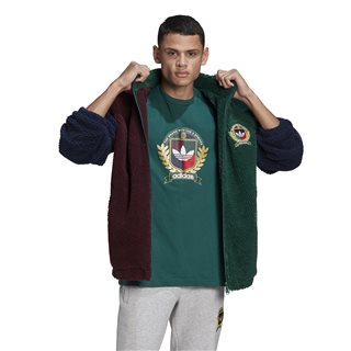 adidas Originals Collegiate Green C Crest Jacket