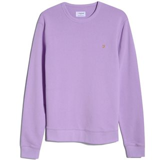Farah Pink Lavender Tim Organic Cotton Sweater