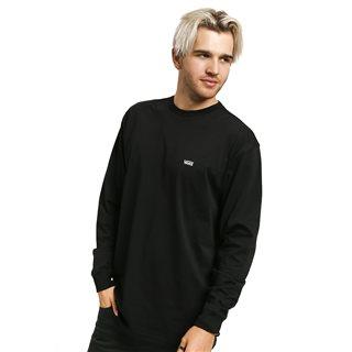 Black Left Chest Hit Long Sleeve T-Shirt
