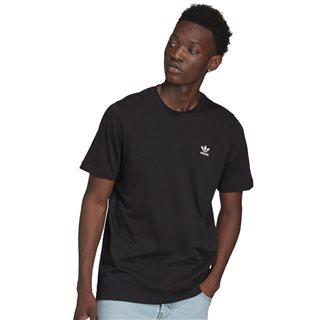 Black Loungewear Adicolor Essentials Trefoil T-Shirt