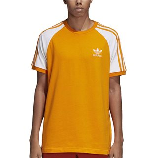 adidas Originals Orange 3-Stripes T-Shirt