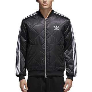 adidas Originals Black SST Quilted Thermal Jacket