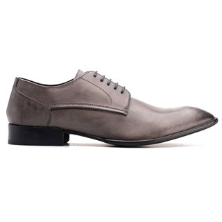 Base London Morse Dress Shoe Grey
