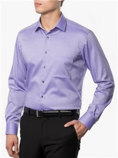 Eterna Modern Fit Shirt Purple