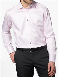 Eterna Modern Fit Dress Shirt Pink