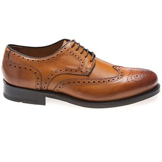 Gordon And Bros Levet Brogue Tan