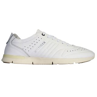 Tommy Hilfiger Footwear Light Leather Trainer White